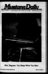 Mustang Daily, March 10, 1976
