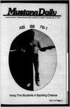 Mustang Daily, May 12, 1976
