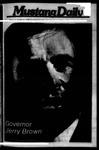 Mustang Daily, October 12, 1976