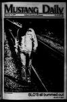 Mustang Daily, October 14, 1977