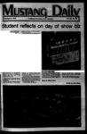 Mustang Daily, November 4, 1977