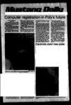 Mustang Daily, October 17, 1978