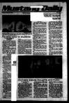 Mustang Daily, October 26, 1978