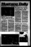Mustang Daily, November 7, 1978