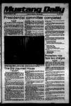 Mustang Daily, November 16, 1978
