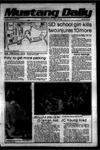 Mustang Daily, January 30, 1979