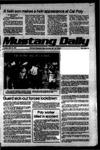 Mustang Daily, April 10, 1979