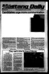 Mustang Daily, May 8, 1979