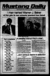 Mustang Daily, May 23, 1979