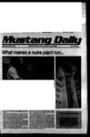 Mustang Daily, May 30, 1979
