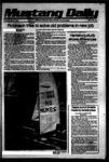 Mustang Daily, May 31, 1979