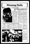 Mustang Daily, October 19, 1979
