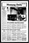 Mustang Daily, November 30, 1979