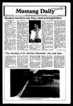 Mustang Daily, January 15, 1980