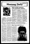 Mustang Daily, January 18, 1980