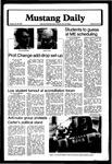 Mustang Daily, January 29, 1980