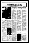 Mustang Daily, January 30, 1980
