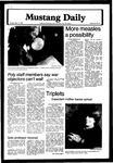 Mustang Daily, March 11, 1980