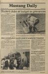 Mustang Daily, April 8, 1981