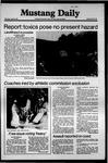 Mustang Daily, April 9, 1981