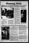 Mustang Daily, April 10, 1981