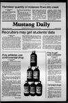 Mustang Daily, April 15, 1981