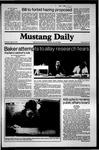 Mustang Daily, April 16, 1981