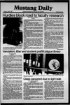 Mustang Daily, April 21, 1981