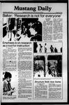Mustang Daily, April 22, 1981