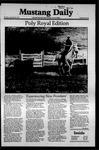 Mustang Daily, April 24, 1981