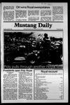 Mustang Daily, April 28, 1981