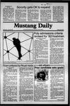 Mustang Daily, April 29, 1981