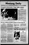 Mustang Daily, April 30, 1981