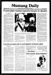 Mustang Daily, May 1, 1981