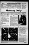 Mustang Daily, May 7, 1981
