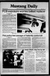 Mustang Daily, May 8, 1981