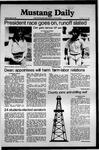 Mustang Daily, May 12, 1981