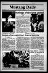 Mustang Daily, May 13, 1981