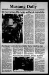 Mustang Daily, May 14, 1981