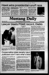 Mustang Daily, May 15, 1981