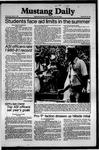 Mustang Daily, May 27, 1981