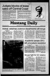 Mustang Daily, May 28, 1981