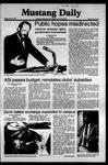 Mustang Daily, May 29, 1981