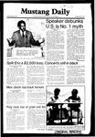 Mustang Daily, June 2, 1981