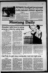 Mustang Daily, June 4, 1981