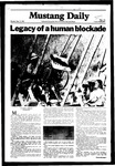 Mustang Daily, September 21, 1981