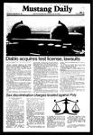 Mustang Daily, September 23, 1981