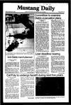 Mustang Daily, September 25, 1981
