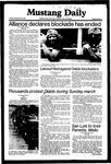 Mustang Daily, September 29, 1981