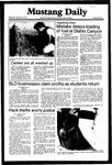 Mustang Daily, September 30, 1981